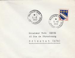 Mulhouse-gare Trasbordement 1-4-1963 - Posta Ferroviaria