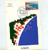 Carte Maximum 1967 La Baule - 1960-69