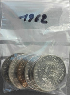 France 5 Francs 1962 Semeuse Argent - Francia 5 Franchi Seminatrice Argento - K. 10 Francs