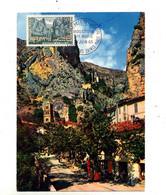 Carte Maximum 1965 Moustiers - 1960-69