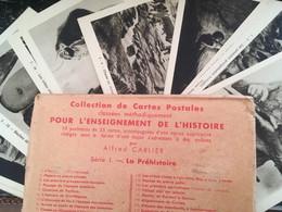 26 LIVRETS DE 25 CARTES SOIT 650 CARTES POUR L'ENSEIGNEMENT 1937 FRANCE PERSE ROME ISRAËL.. - 100 - 499 Postcards