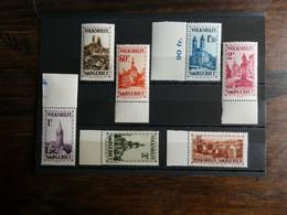 Sarre  N° 155 à 161 Série Complète Neufs Sans Charnière Cote 820 € - Unused Stamps