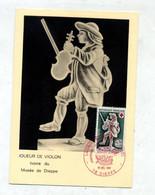 Carte Maximum 1967 Dieppe Croix Rouge - 1960-69
