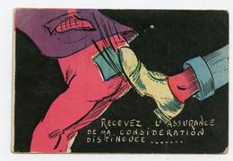 Humor. Humoristique. Recevez L'assurance De Ma Considération Distinguée ( Le Coup De Pied Au Cul !...) - Humor