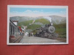 Base Station  & Trains Mt. Washington  New Hampshire   Ref 4608 - Ohne Zuordnung