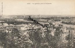 CPA 57 004 METZ - VUE GÉNÉRALE PRISE DU ST-QUENTIN - Metz