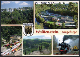 E0790 - Wolkenstein - Eisenbahn Dampflok - Matthias Kunz - Wolkenstein