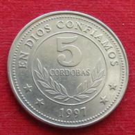 Nicaragua 5 Cordobas 1997 KM# 90   *V2 - Nicaragua