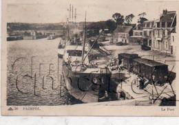 Paimpol (22) : Déchargement D'un Cargo De La Haye Dans Un Wagon Quai Du Port En 1930 (animé) ETAT PF. - Paimpol