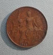 France 5 Centimes 1912 - Francia 5 Centesimi - C. 5 Centesimi