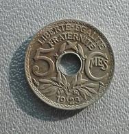 France 5 Centimes 1923 Lindaeur - Francia 5 Centesimi - C. 5 Centesimi
