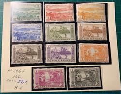 Nouvelles-Hébrides -Légende Anglaise - 1940-1959 - N°186 à 196 **- Cote 52€ - Nuevos