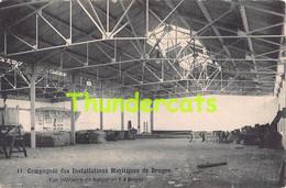 CPA BRUGGE BRUGES  COMPGNIE DES INSTALLATIONS MARITIMES DE BRUGES HANGAR - Brugge