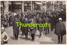 FOTO PHOTO BRUGGE BRUGES 1928 BEGRAFENIS RAMP DE BUYSER 14 CM X 9 CM - Brugge