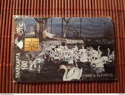 Phonecard Greece Birds New With Blister  Rare - Otros
