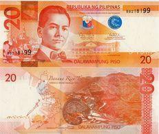PHILIPPINES      20 Piso      P-206a      2016H      UNC - Filippine