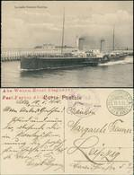 Postkaart Ostende Oostende La Malle Douvres Dampfer 1916 - Zonder Classificatie