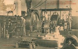 CPA Poitiers - Intérieur De L'usine électrique Des Tramways - Ouvriers - Machines Début XXème Siècle - Poitiers