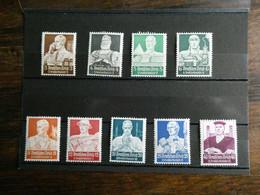 ALLEMAGNE Secours D'hiver N° 513 à 521 Neuf Sans Charnière Cote 500 € Superbe - Unused Stamps