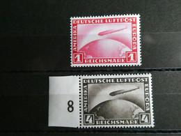 ALLEMAGNE Poste Aérienne N° 35 Et 37 Neuf Sans Charnière Cote 225 € Superbe - Airmail