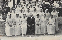 Hôpital Bénévole N 35 Bis 14 Juillet 1917 - Pons