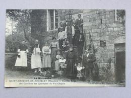 Saint-Georges-De-Rouelley, Cantine Belge Des Carrières Des Quartzites Du Val-Chapon, Barenton, Domfront, Mortain - Avranches