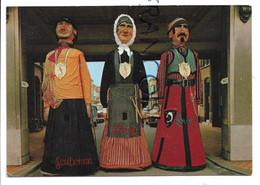 Wenduine. Les Géants: Louwe, Wanne, Scuteman - Wenduine