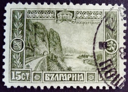 Bulgarie Bulgaria 1915 Riviere River Yvert 105 O Used - Used Stamps