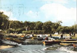 33 Taussat Les Bains Le Port CPSM GF Cachet Flamme Taussat 1964 - Other Municipalities