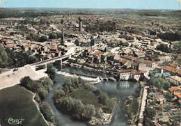 33 Coutras Vue Générale Nouveau Pont CPSM GF - Other Municipalities