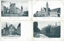 BELGIQUE - Bruges - Brugge - Lot De 28 Cartes Monuments De BRUGES - Brugge
