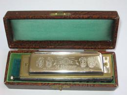 Superbe Et Ancien HARMONICA - CHROMONIKA II M.HOHNER- Made In Germany  ***** EN ACHAT IMMEDIAT **** - Musical Instruments