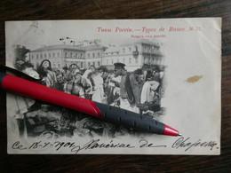 Cartes Postales RUSSIE Types De Russie   Le Marché Voir Oblitérations - Russia