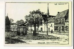 56801 - WERVICK STEINACKERPLATS - 1915 - Wervik