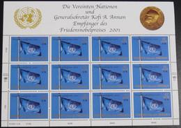 UNO WIEN 2001 Mi-Nr. 350 Kleinbogen ** MNH - Blocks & Sheetlets