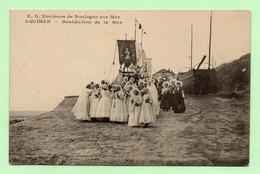 CPA - EQUIHEN - Bénédiction De La Mer - BELLE ANIMATION - - Boulogne Sur Mer