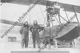 PHOTO AVION RETIRAGE REPRINT    HYDRAVION TELLIER DIT 200 CH AVEC PILOTE - Aviation