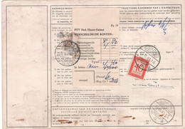 Nieuw Guinea - Adreskaart - Sorong 3.11.61 - Ermelo - Porto 40 Cent - Netherlands New Guinea