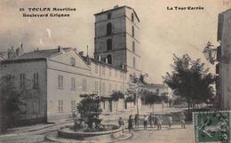CPA TOULON  Mourillon - Boulevard Grignan - La Tour Carrèe - Toulon
