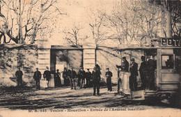 CPA TOULON-MOURILLON - Entrée De L'Arsenal Maritime - Toulon