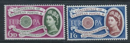 Grande-Bretagne YT 357-358 Neuf Sans Charnière - XX - MNH Europa 1960 - Unused Stamps
