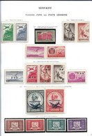 Monaco Une Collection De P.A Neufs* Et Oblitérés Cote 1100€ - Collections, Lots & Series