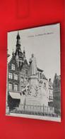 Cpa - Courtrai - La Statue De Haerne - - Kortrijk