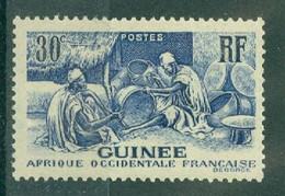 GUINEE - N° 133** MNH SCAN DU VERSO - Les Laobis, Artisans Du Bois. - Nuovi