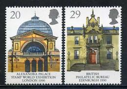 Grande-Bretagne YT 1455-1456 Neuf Sans Charnière - XX - MNH Europa 1990 Architecture - Unused Stamps