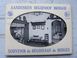 Belgique - Souvenir Du Béguinage De Bruges - Pochette De 10 Photos - Other