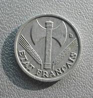 France 50 Centimes 1942 - Francia 50 Centesimi Ascia Vichy - G. 50 Centesimi