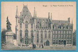 BRUGES - Le Palais Provincial Et La Poste (animation) - Brugge