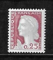 N° 1263  NEUF** - 1960 Marianne De Decaris