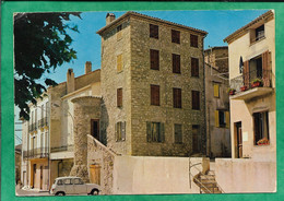Roquebrune-sur-Argens (83) La Commanderie Des Templiers Et La Tour 2scans 24-08-1978 Flamme - Roquebrune-sur-Argens